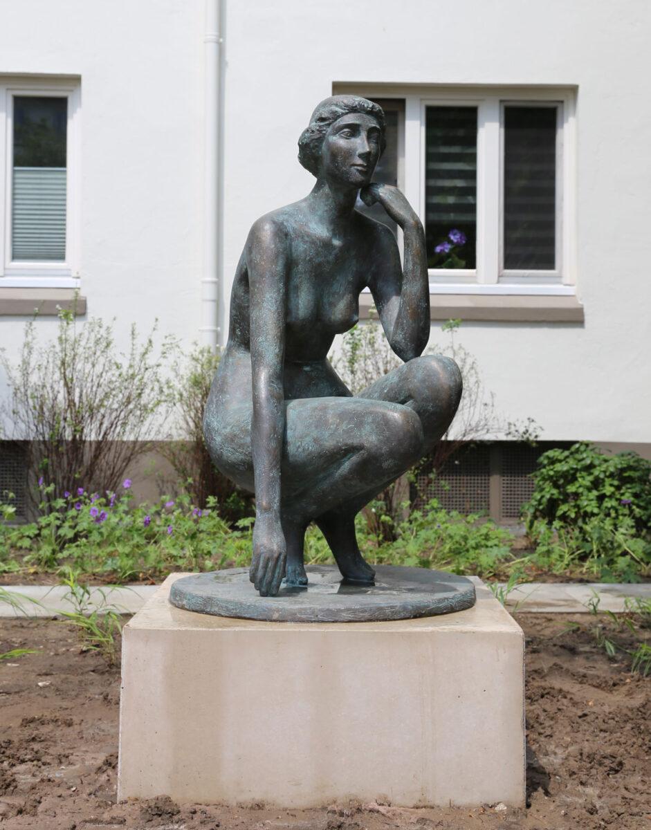 Skulptur Abendstunde Gerhard Brandes